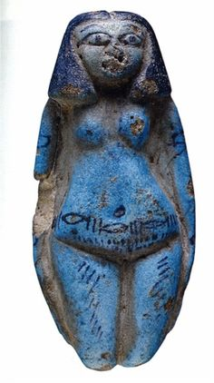 Female Figurine, from Thebes. The British Museum, London. Ancient Egyptian Art, Ancient History, Art History, Ancient Goddesses, Ancient Artifacts, Ancient Civilizations, British Museum, Archaeology, Viking Jewelry