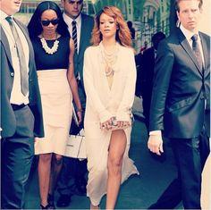 Rihanna Fashion Week Paris