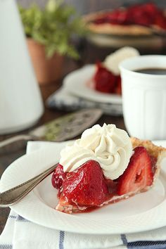 CP. Fresh Strawberry Pie with GINGER and a Gluten Free Snickerdoolde ...