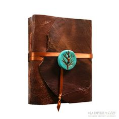 Leather Journal  Helen Keller quote The most by lapaperie on Etsy, $47.00