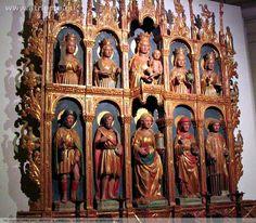 Domenico Da Tolmezzo - Altare ligneo -