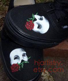 bbfcbf302b Phantom of the Opera Shoes hjartistry.etsy.com Use Code  Pin10 on etsy