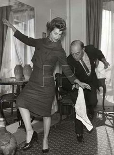 BusterKeaton and Eleanor...dancing? XD <3