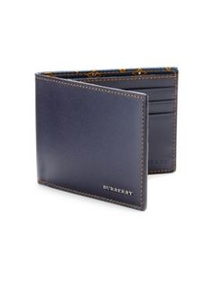 21f51613a2b6 BURBERRY Leather Bifold Wallet.  burberry  bags  leather  wallet   accessories