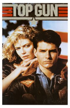 Top Gun Movie Tom Cruise and Kelly McGillis 80s Poster Print Masterprint at AllPosters.com