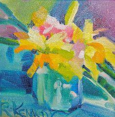 Golden Opportunity - Original Fine Art for Sale - © by Reveille Kennedy