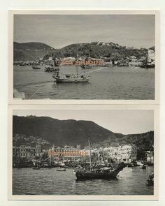 old Hong Kong Island Chai Wan 1960 Photographs Harbour Chinese Postcard size China Hong Kong, Royal Mail, Postcard Size, Chai, The Row, United Kingdom, Photographs, Chinese, River
