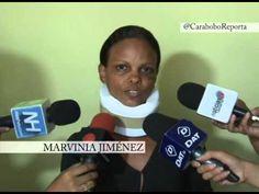 Habla Marvinia Jiménez, agredida por la Guardia del Pueblo en La Isabelica  Esta es la Paz que pregona el desgobierno Venezolano .  Un régimen político que se mancha las manos con la sangre de su propio pueblo y tiene el descaro de culparlos por protestar  Que el mundo de entere y no caiga en las mentiras de Amor del Ilegítimo de Miraflores