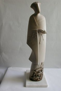 Interesting inspiration to begin ceramic figures that portray expressions...