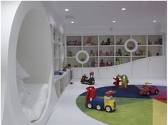 Get Inspired : 10 Cool Playrooms