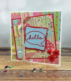 Colourful Dovecraft Serendipity and First Edition dies by design team member Maxine