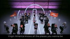 """Virgin America's safety video proves that """"necessary evils"""" turn into awesome tools when they're given a fresh twist!"""