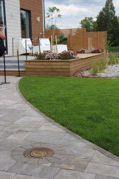 Kohde 13 Sievitalo Sidewalk, Patio, Outdoor Decor, Garden, Home Decor, Walkway, Homemade Home Decor, Yard, Terrace
