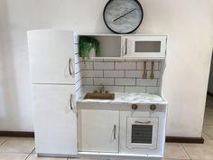 30 Beautiful Picture of Diy Kids Furniture Ideas . - 30 Beautiful Picture of Diy Kids Furniture Ideas . Diy Play Kitchen, Kitchen Vinyl, Kitchen Reno, Play Kitchens, Ikea Kitchen, Kmart Toy Kitchen, Kitchen Ideas, Kitchen Cabinets, Diy Kids Furniture