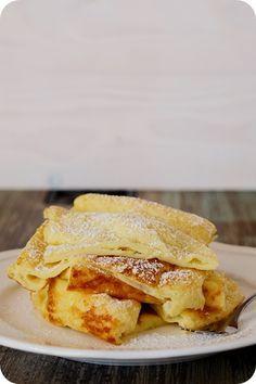 Frl. Moonstruck kocht!: Internationaler Frühstücksfreitag#10 Finnland - Ofenpfannkuchen