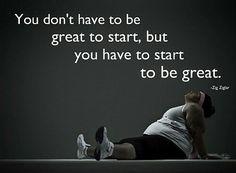 We all start somewhere! #getstarted  #getfit  #newbeginning #fitspo  #fitspiration  #nuffsaid  #fitnesslifestyle #begreat #AMBTF