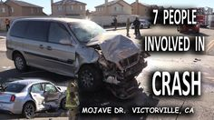 Seven People in  a Crash on Mojave Drive Victorville, Ca