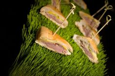 Are you bored with your menu? Contact AARON'S Catering. We don't do boring. www.aaronscatering.com