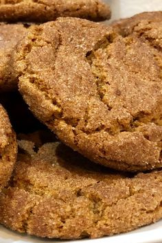 This gingersnap cookie recipe will help you make quick and easy gingersnap cookies! This dessert recipe incorporates ginger, cinnamon, and molasses to create delicious homemade cookies. Whether you're baking these gingersnap cookies for a Christmas dessert or sweet snack, your friends and family will love them!