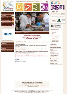 CastAlimenti, scuola di cucina http://www.castalimenti.it