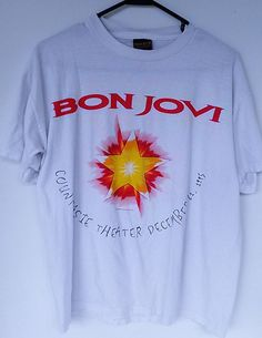 Check out this item in my Etsy shop https://www.etsy.com/listing/241482378/bon-jovi-1995-6th-annual-charity