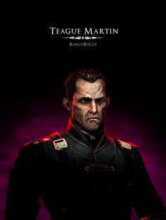 Dishonored | Teague Martin | OC