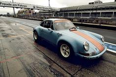 keepkillinit:    Gulf Porsche (by fxfive)