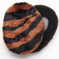 Brown and Black Zebra Earbags Want the latest styles to keep your ears cozy?…