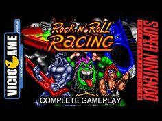 Rock n' Roll Racing - Super Nintendo - Complete Gameplay #viciogame  https://youtu.be/7EeXpL-GbRg