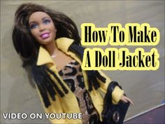How to Make: Jackets - Doll Crafts (EASY)!! - YouTube