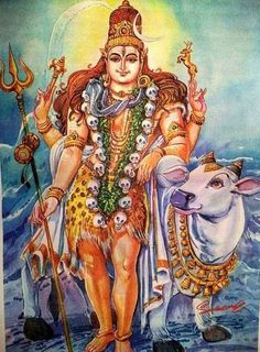 Shiva and Nandi