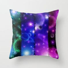 Art Pillow Triangles Polygon Abstract Throw Pillow by NikaLim, ₪100.00