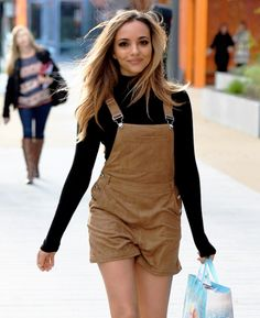 Jade today (10.22) in Manchester