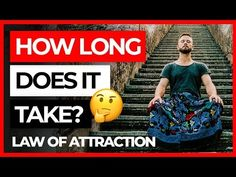 The law of attraction is the most powerful law in this universe. I'm going to explain how it really works and how long does it actually take. Watch this vide. Get What You Want, Take That, Book Summaries, Negative Thoughts, Self Development, Going To Work, Law Of Attraction, Self Help, Work On Yourself