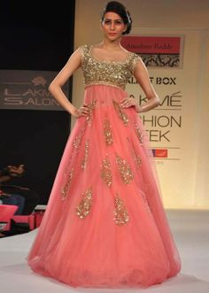 From Anushree Reddy Collection @ Lakme Fashion Week Winter-Festive 2013-14 http://www.kalkifashion.com/designers/anushree-reddy.html