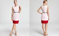 kate spade new york Tiff Color Block Dress