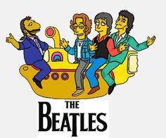 Yellow Submarine, Beatles - Simpsonized.