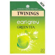 Twinings Green Earl Grey 20 Tea Bags 40g