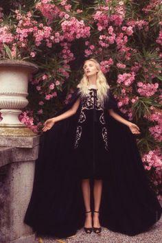 Anastasia Shershen in Bottega Veneta photographed by Nikolay Biryukov for Elle Ukraine, November 2012.