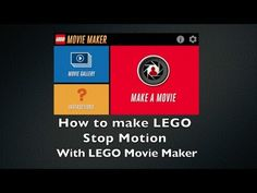 How to make LEGO Stop Motion Videos with LEGO Movie Maker App - Cheep Jokes - YouTube