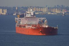 CHEMTRANS LYRA in New York, USA. August 2006