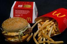 Die Leute können jetzt Bilder von McDonald ' s Big Mac in Ihre social-media-Beiträge