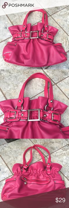 61cd02c8fa1d Wilsons Leather Satchel Bag Carry your essentials and more and look pretty  in pink in the