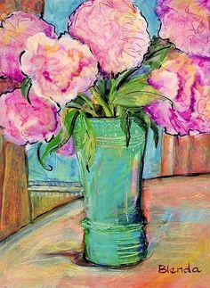 love THIS!.. #pink #vase #flow