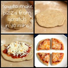 How to make pizza from scratch in 30 mins 5