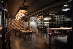 Barco grill & wine bar by Ample Studio, Novorossiysk – Russia » Retail Design Blog