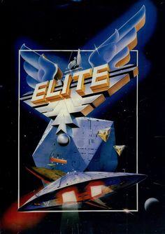 Vous vouliez du pixel ? Je vous offre, de l'épuré ^^. Aujourd'hui on reste dans l'espace et on joue à Elite. Sortie en 1984, j'ai reçu ce jeux avec l'amiga que je viens d'acheter aux USA. 1 mois pour la livraison. Plutôt pas mal. Bref ce jeu est une simulation...