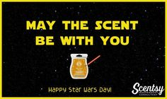 Happy Star Wars Day #starwars #scentsy #christmas #gifts