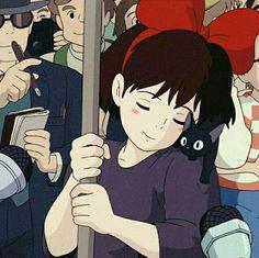 Image de kiki, anime, and studio ghibli Hayao Miyazaki, Totoro, Girls Anime, Anime Manga, Anime Art, Kiki Delivery, Kiki's Delivery Service, Studio Ghibli Art, Studio Ghibli Movies