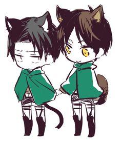 Eren and Levi // EreRi ♥